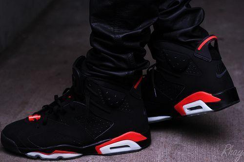 Air Jordan 6 Infrared. One of the best looking Jordans to drop in ...
