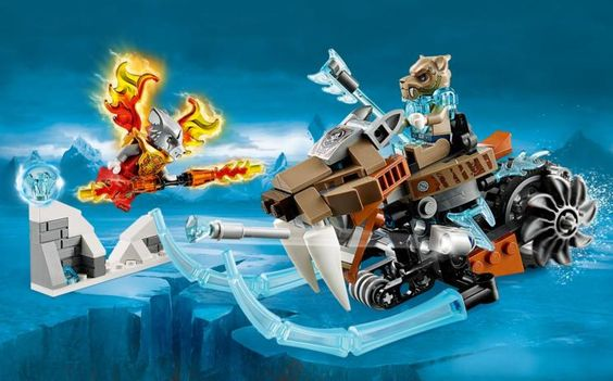 70220 La Moto Sable de Strainor - Productos - Chima LEGO.com