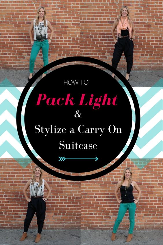 Learn how to turn a few stylish staples into multiple different looks, so you can pack light and look good while traveling.