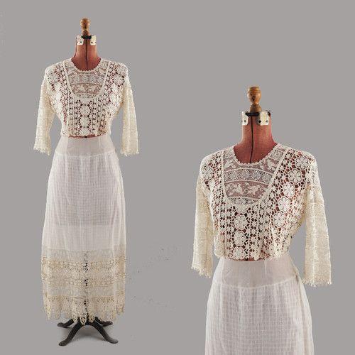 romantic Edwardian Gibson Girl dress - ebayseller: great_lake_outfitters