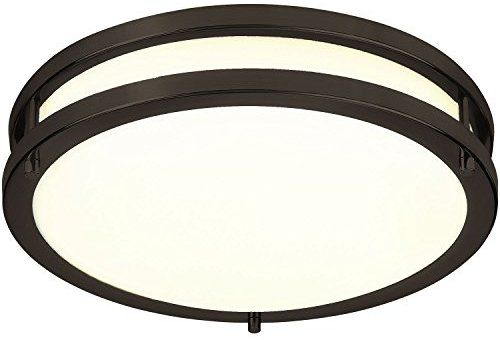 Lb72120 12 Inch Led Flush Mount Ceiling Light Oil Rubbed Bronze 3000k Warm White 1050 Lumens Dimm Flush Mount Ceiling Lights Ceiling Lights Led Flush Mount