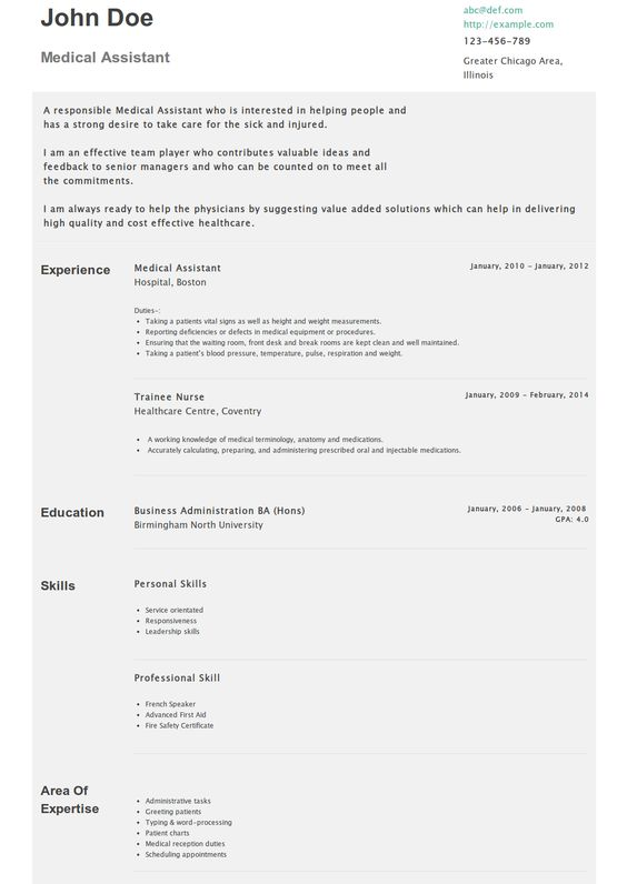 Pinterest u2022 The worldu0027s catalog of ideas - medical assistant resume objective examples