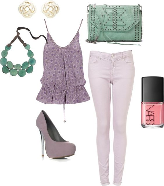 Fun girly purple summer outfit ;) #2, created by jill-27 ...