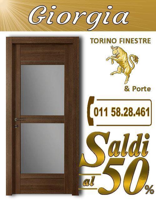 porte interne Giuliana torino | Porte Interne con Vetro Torino ...