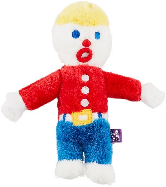 Buy Multipet Mr Bill Plush Dog Toy At Chewy Com Free Shipping