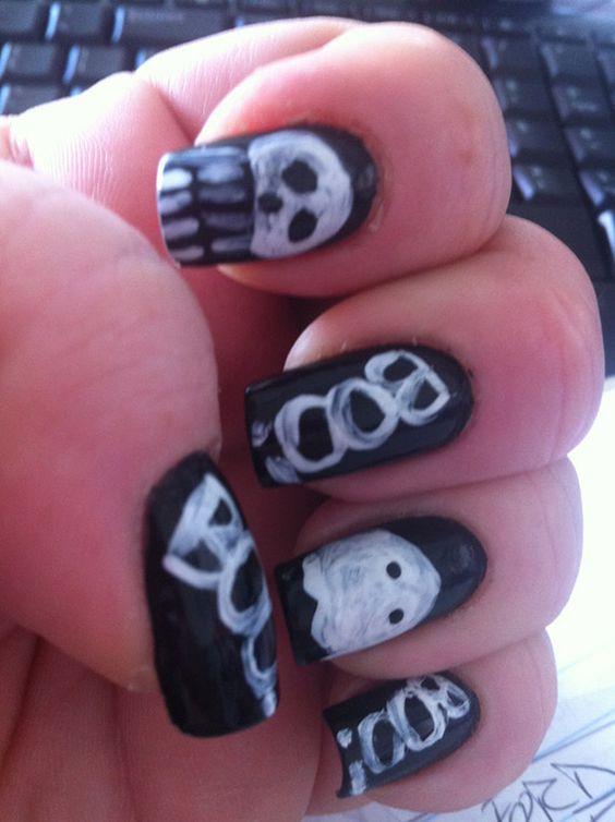 Fotos de uñas de Halloween | Pintar Uñas #halloween #halloweenNails