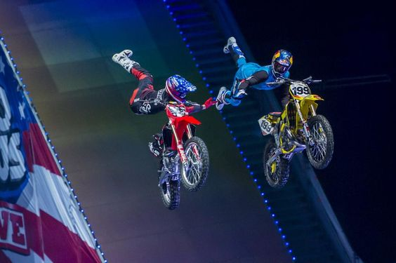 The weekend is here! Time to grab a buddy and go ride. Where's your favorite weekend riding spot? #NitroCircus