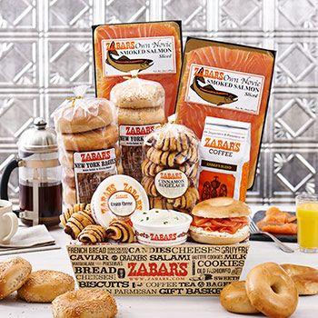 Zabar's Bagels & Nova Brunch Box