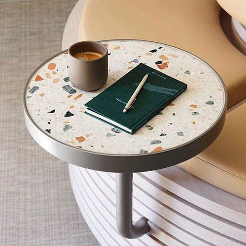 Caulfield Grammar School Project By Studiotate Highschoolgoals Terrazzo Side Tray Table Perfect Replacement For Side Tables Ca In 2020 Cafe Tables Banquette Seating Terrazzo