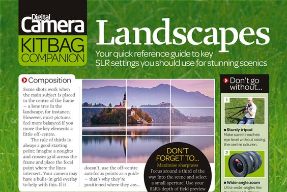Free landscape photography cheat sheet. jmeyer. http://www.digitalcameraworld.com/2012/04/23/free-landscape-photography-cheat-sheet/