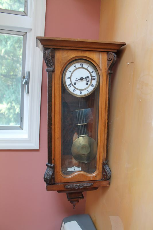 ... and more wall clocks auction antiques clock faces porcelain vienna