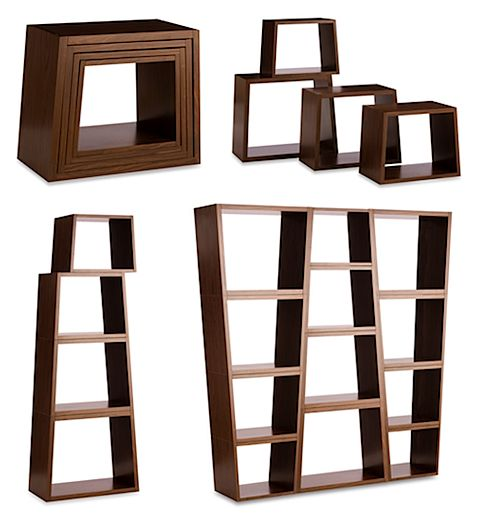 Unique shelving unit craft shows ideas pinterest for Unique shelving units