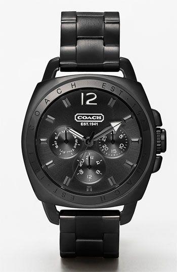 COACH 'Boyfriend' Bracelet Watch available at #Nordstrom
