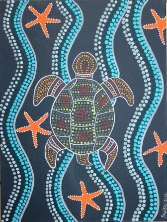 Peinture style aborig ne peinture painting pinterest for Style de peinture