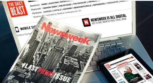 Segundo a pesquisa The State of the News Media 2013, 15% dos norte-americanos tomam conhecimento de notícias por meio de sites como Facebook e Twitter.