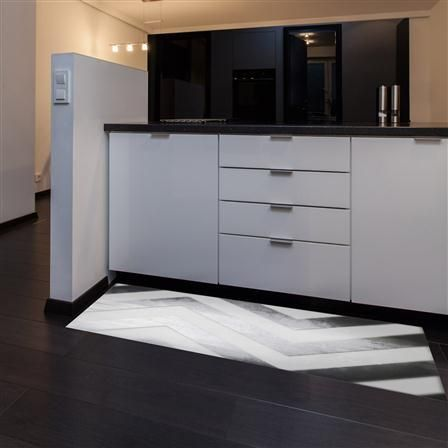 floorart tapis en vinyle 50 x 120 cm argent gran. Black Bedroom Furniture Sets. Home Design Ideas