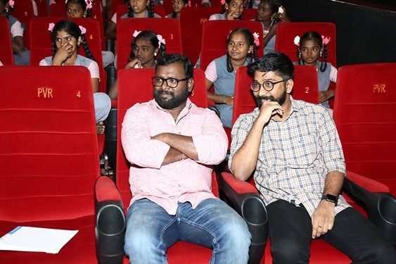 Kanaa Movie Special Screening for 200 students