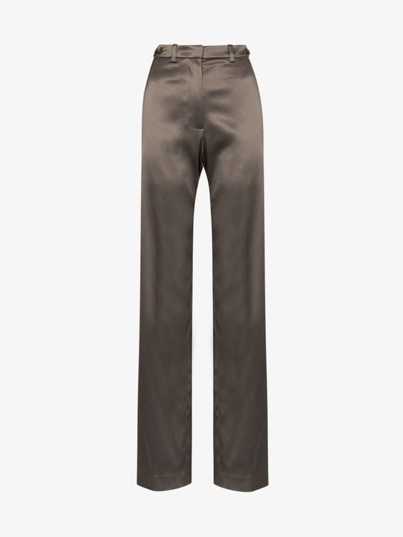 House of Holland tailored satin trousers | Browns