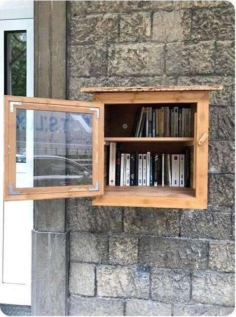 Boîte à livres Rochefort