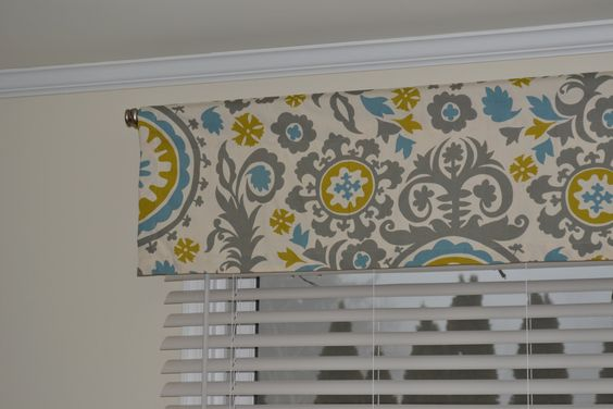 """Valance, window treatment, approximately 50"""" wide and 13"""" tall,  ready to ship, more available. $35.00, via Etsy."""