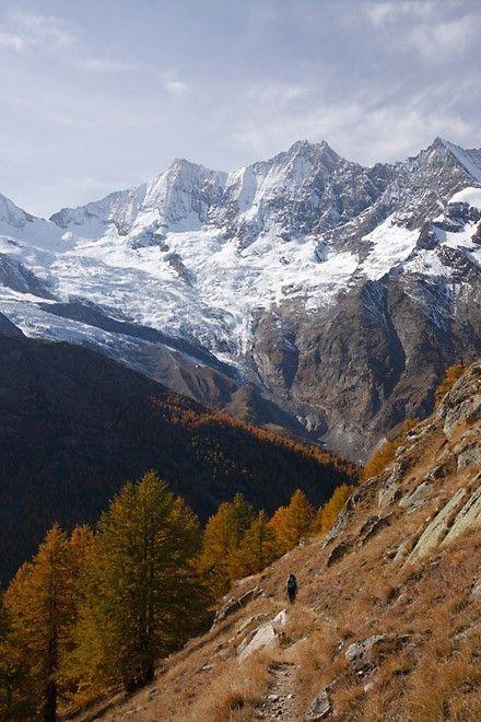 Région de Saas-Fee dans les Alpes Valaisannes - Suisse #switzerland #bestofswitzerland