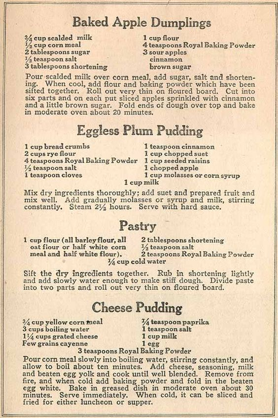 Best War Time Recipes: Preparedness Cooking Skills from the Past - Page 12 of 12