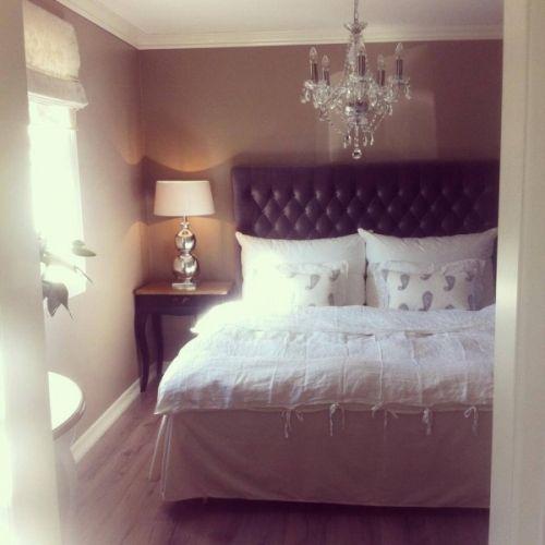 """Skap """"hotell følelsen"""" med classic headboard i fargen grå, velvet ..."""