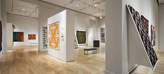 Lincoln, NE - International Quilt Study Center & Museum has over 2,000 quilts on display from 14 different countries, offering a fascinating look at the history, art, and handiwork that went into each one.: