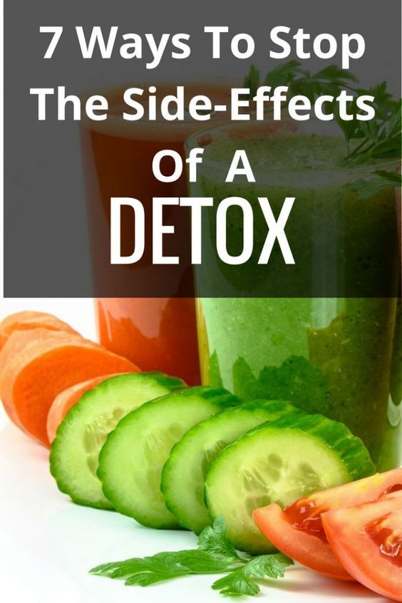 Detox Side Effects - TheNewPriority