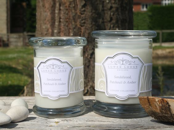 Sandalwood, Patchouli & Amber  - Calming & Relaxing part of the new collection from www.lowerlodgecandles.com launching August 2013