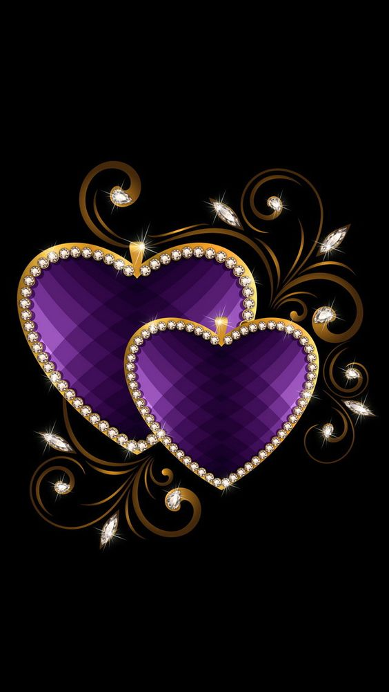purple love: