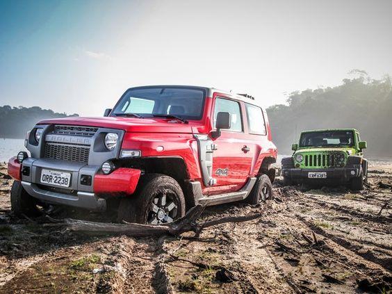 Novo Troller e Jeep Wrangler se enfrentam em comparativo