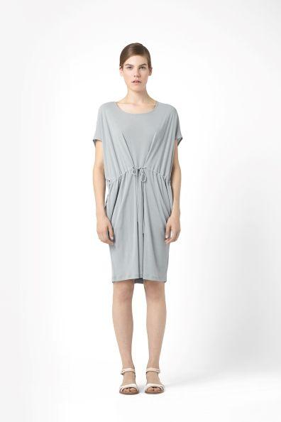 Jersey drawstring dress