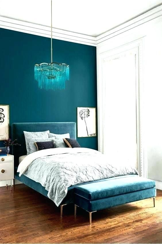 Teal Accent Wall Paint Ideas Dark Teal Bedroom Teal Walls Bedroom