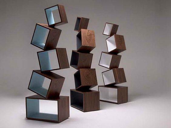 Splendid Contemporary Modular Bookcase Furniture Design : Inspiring Modern Bookcase Furniture Ideas: Extraordinary Unique Bookcase Furniture Design Ideas ~ kidlark.com Apartment Inspiration