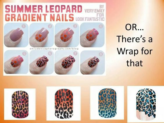 Why spend hours on your nails when you can do them in minutes with Jamberry nails?