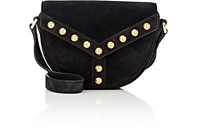 The Y-Studded Small Shoulder Bag from Saint Laurent at Barneys New York