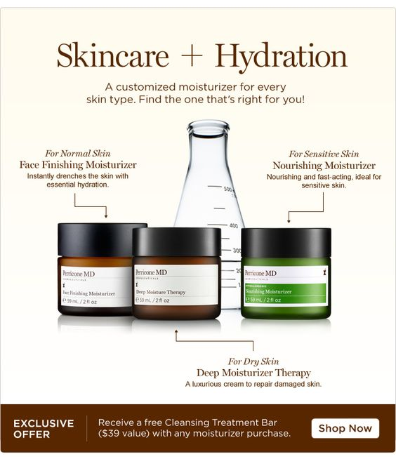 Dr. Perricone! It just does not get any better when it comes to Skincare...