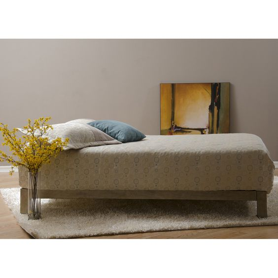 Aura Gold Platform Bed | Overstock.com Shopping - Great Deals on Beds