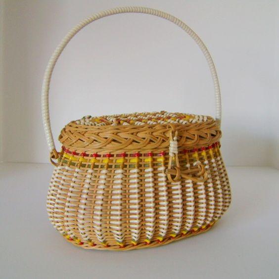 Vintage Basket Purse/sweetbeejubilee.. now in my closet