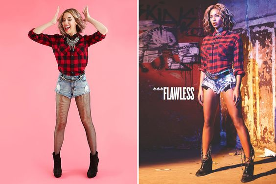 5 Ways to Be Beyoncé for Halloween via Brit + Co.