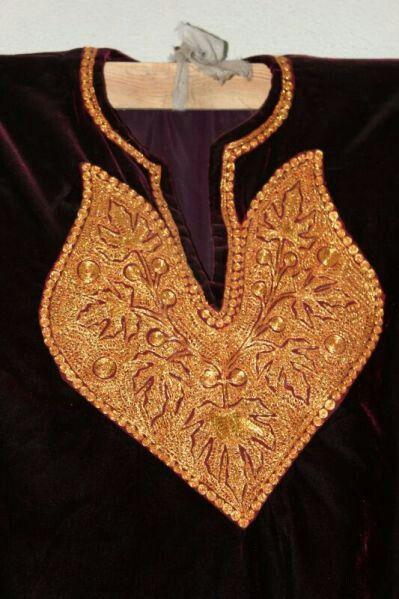 Tilla Work | Kashmiri Tilla/Dori Embroidery | Pinterest