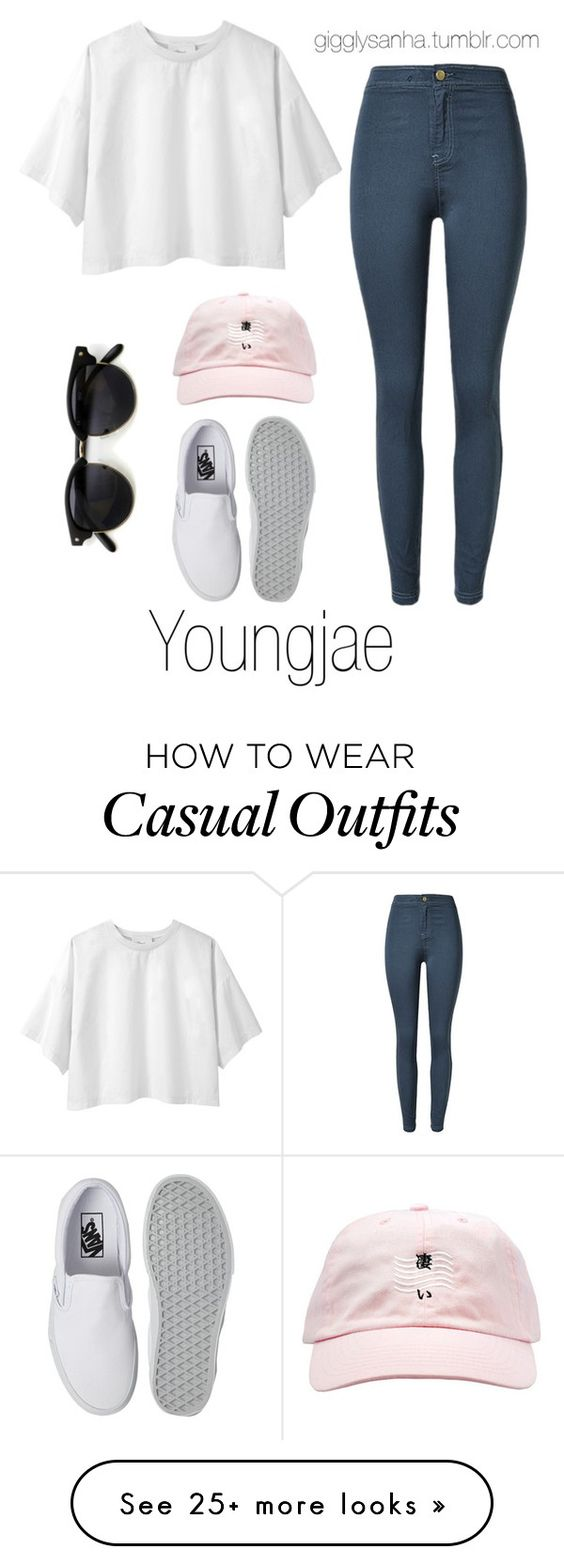 """Casual LA Date // Youngjae"" by suga-infires on Polyvore featuring 3.1 Phillip Lim and Vans"