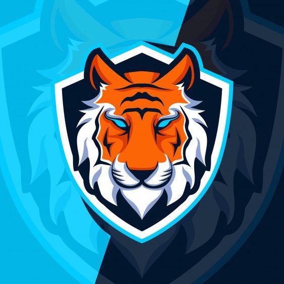 Tiger mascot esport logo design Premium ... | Premium Vector #Freepik #vector #logo #design #logo-design #sport