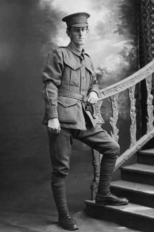 Private Bernard Hickey killed in action 1 September 1916, Somme, WW1. Unit: B-Company, 16th Battalion, 4th Brigade, Australian Imperial Force. © IWM ( HU 123316)