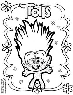 Free Trolls World Tour Coloring Page Shoppingbag Com Coloring Pages Colouring Pages Cartoon Drawings