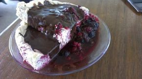 Guiltless Cinnamon Swirl Cheesecake with Warm Berry Topping Recipe - substitute full fat items if not trying to watch calories