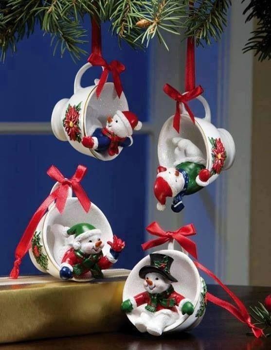 Xícaras natalina