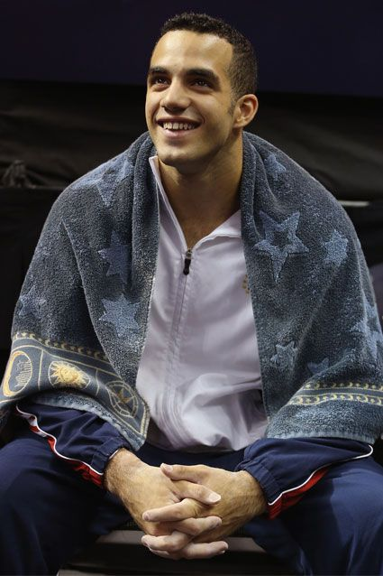 Danell Leyva    The 20-year-old Cuban-born gymnast is making his first appearance in the Olympics.