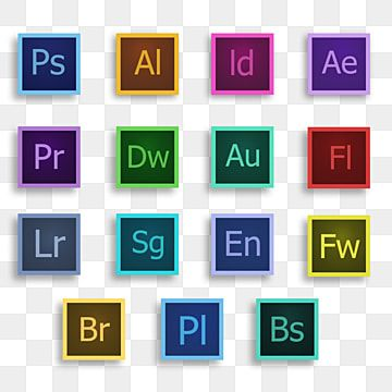Adobe Creative Adobe Icons Adobe Illustrator Png Transparent Clipart Image And Psd File For Free Download Photoshop Logo Social Media Icons Free Adobe Creative
